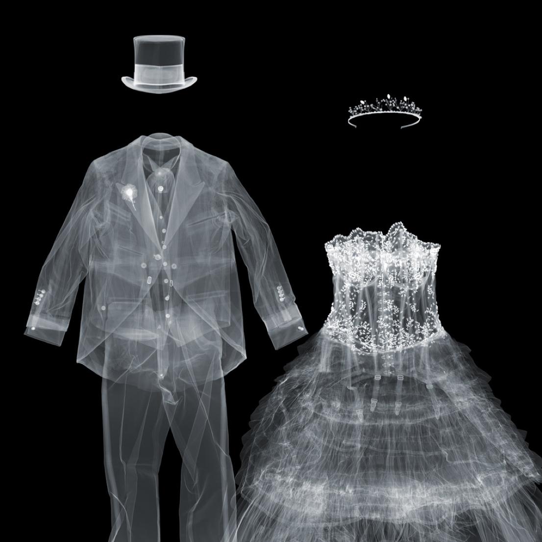 bride & groom / xray nick veasey