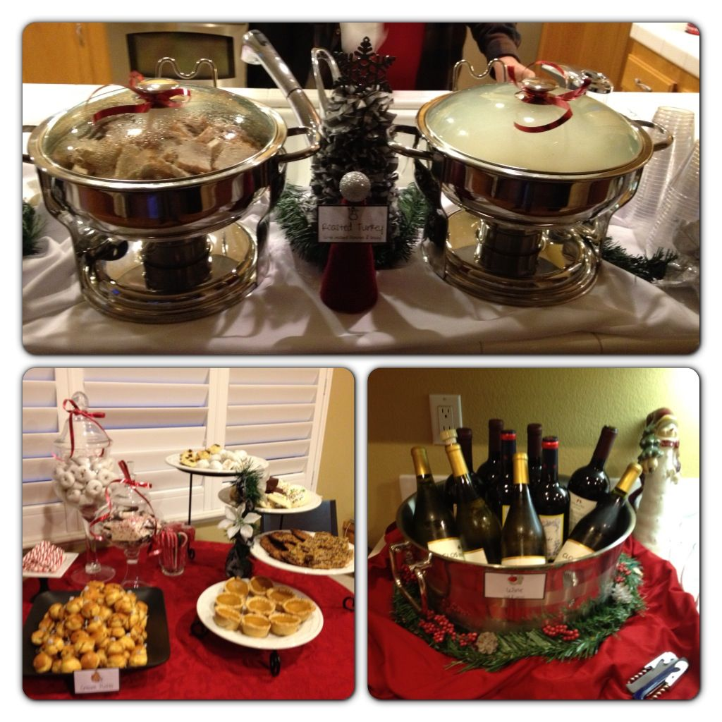 Wedding Food Stations Menu: Annual Evanshire Holiday Open House