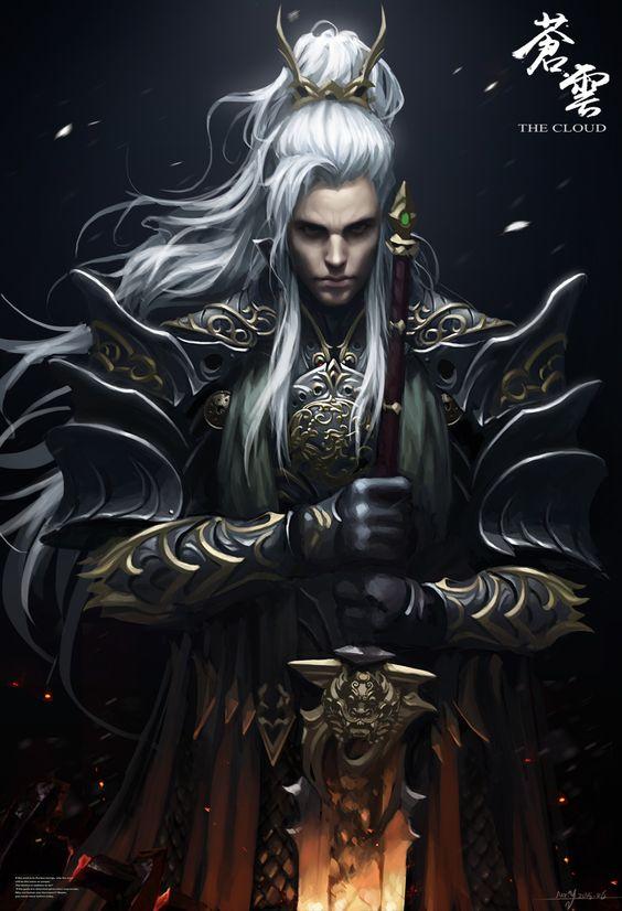High Elf hero | Fantasy art men, Fantasy warrior, Dark