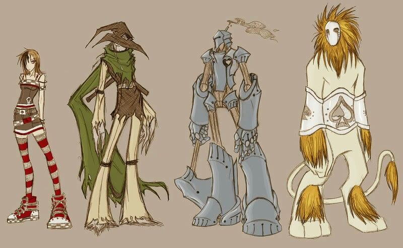 Pin By Rachel Miller On What Is This Wizard Of Oz Characters
