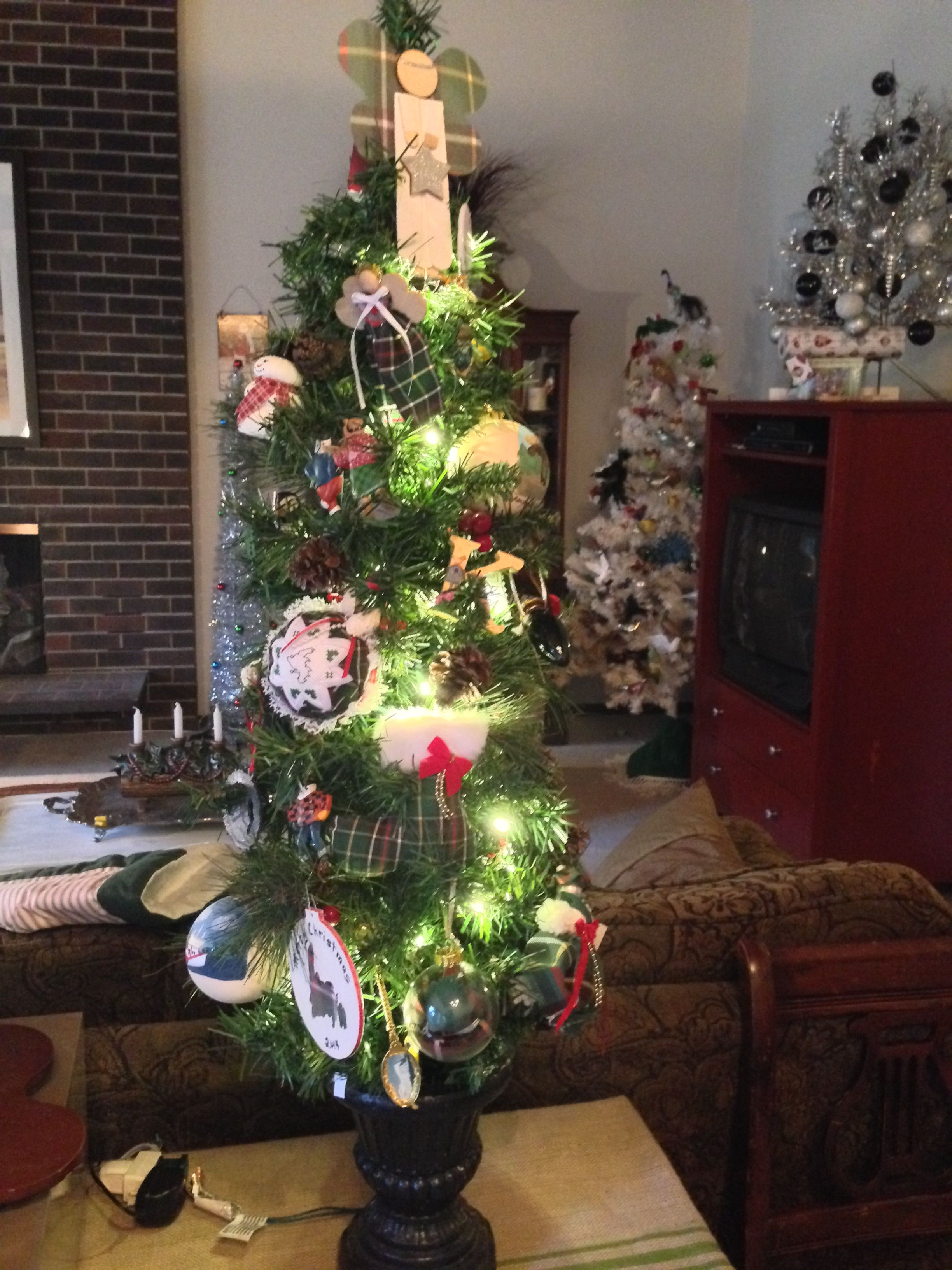My Newfoundland theme Christmas tree Decorated with ornaments given