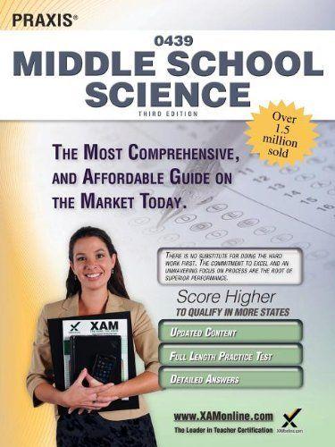 praxis middle school science 0439 teacher certification study guide rh pinterest co uk ets praxis ii middle school science study guide praxis ii middle school science 5440 study guide