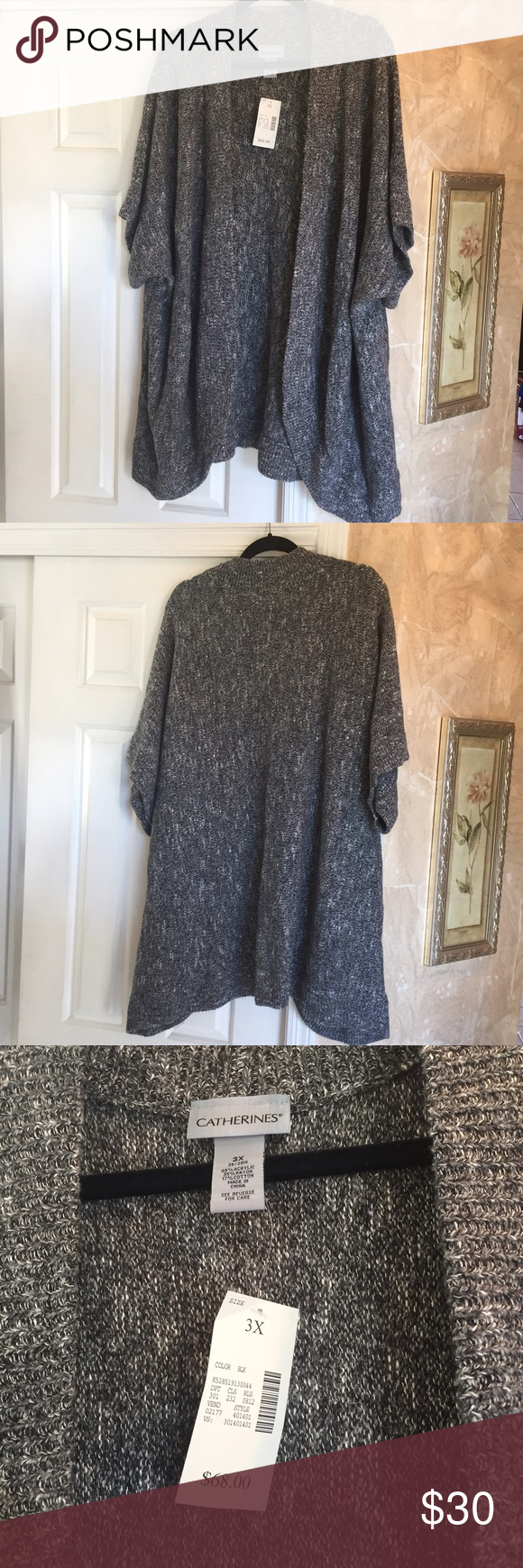 Catherines short sleeve cardigan   Short sleeves, Shorts and Cotton