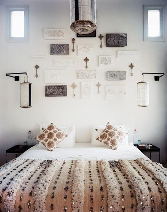 schlafzimmer wanddeko fotowand ideen mit einfache bilderrahmen wanddeko interior