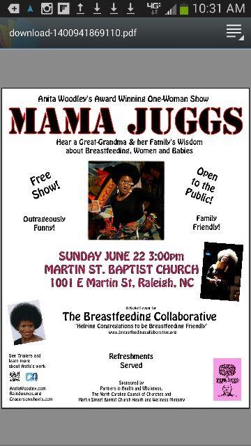 PHW Breastfeeding Collaborative Kickoff Event! Mama Juggs award winning show-June 22!
