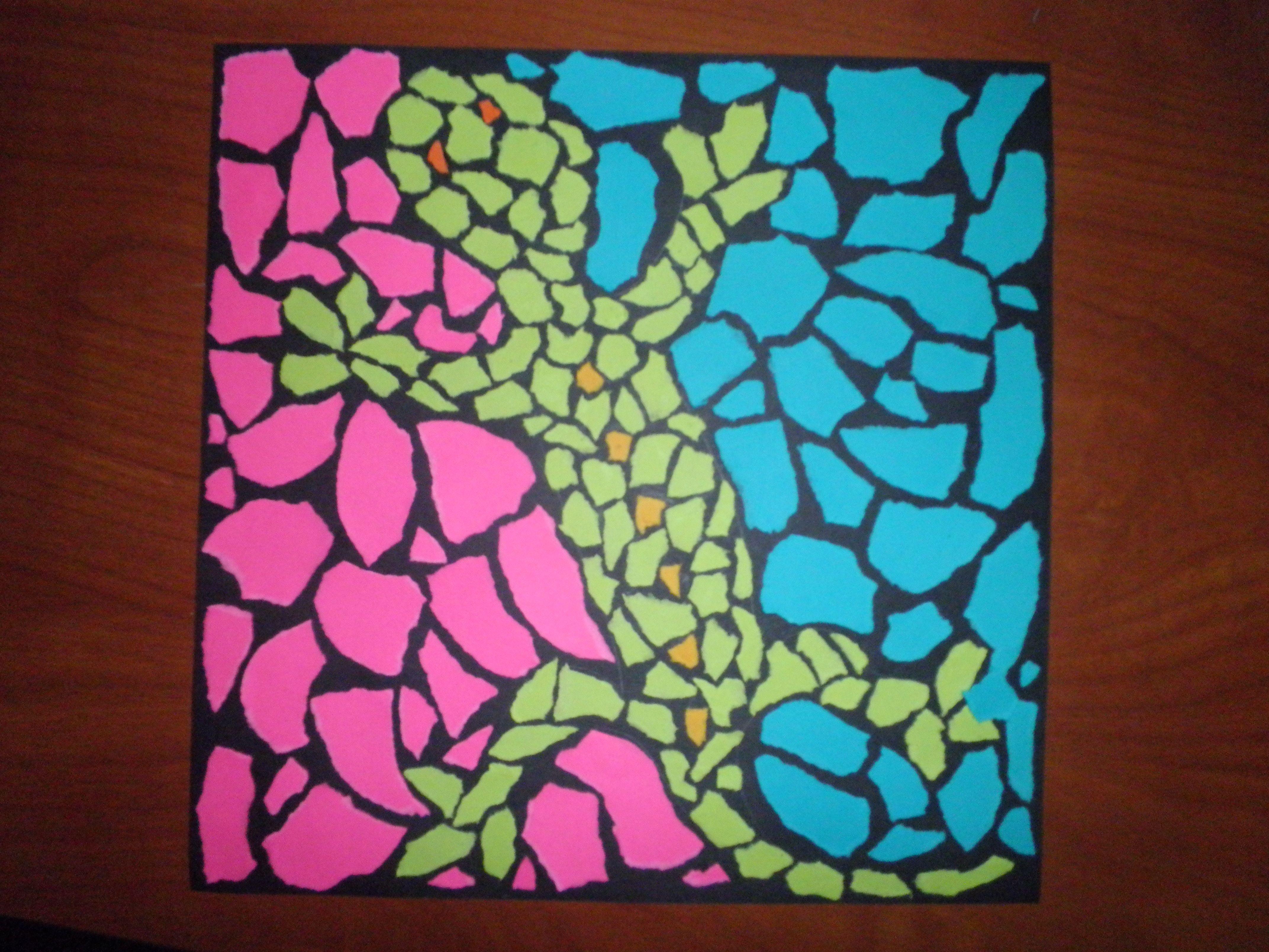 Art Lesson Plans Animal Mosaic Lesson Plan