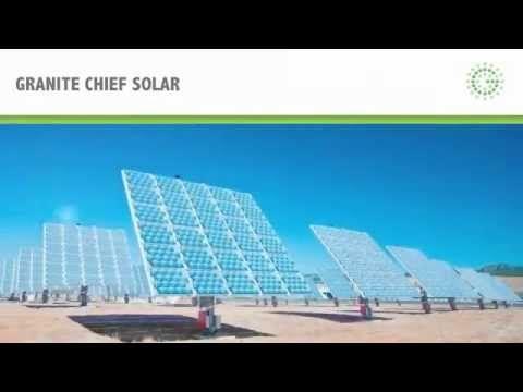 Granite Chief Solar Presentacion Apaseo El Grande Un Gran Proyecto Un Gran Beneficio Ambiental Energia Solar Energia Electrica Parques