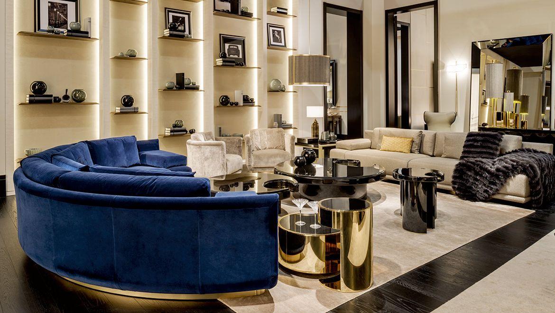 Fendi Casa Borromini Sofa Refil