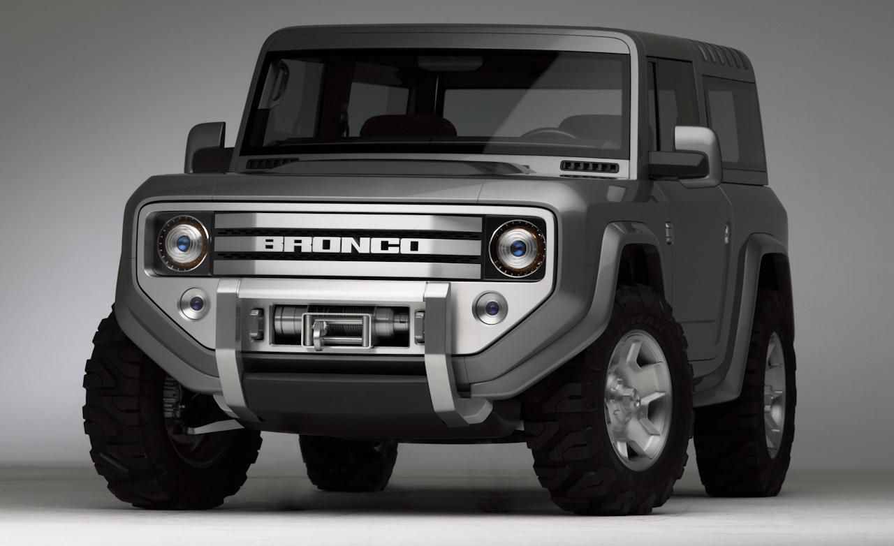 Ford Bronco Concept s Trucks Pinterest