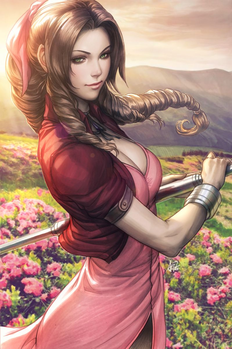 Final fantasy aeris naked with you