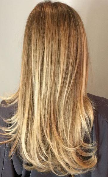 Gold Spun Blonde Balayage Highlights Jpg 363 596 Blonde