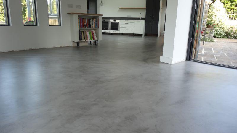 Steve Peck Stone Floor Restoration Floor Restoration Company In Holsworthy Uk Concrete Patio Makeover Decorative Concrete Floors Flooring