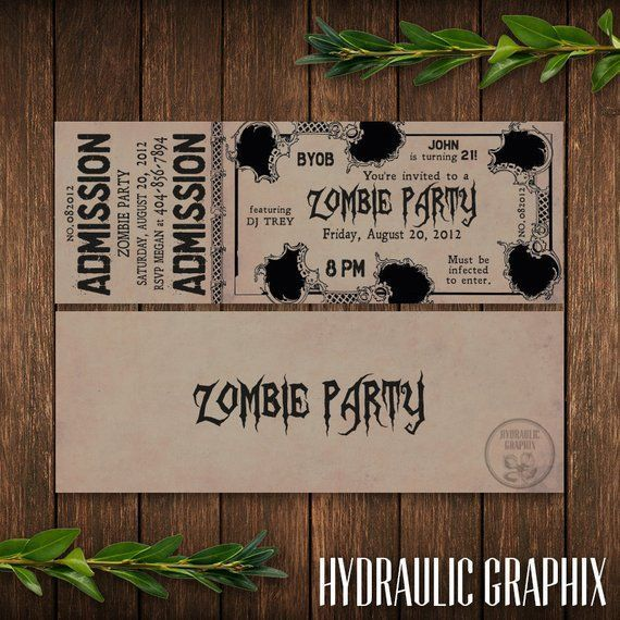 Zombie Party Invitation Printable, Birthday Ticket Invitation, Zombie Apocalypse Party, Halloween Invite, The Walking Dead Party, Zombies #zombieapocalypseparty Zombie Party Invitation Printable, Birthday Ticket Invitation, Zombie Apocalypse Party, Halloween In #zombieapocalypseparty Zombie Party Invitation Printable, Birthday Ticket Invitation, Zombie Apocalypse Party, Halloween Invite, The Walking Dead Party, Zombies #zombieapocalypseparty Zombie Party Invitation Printable, Birthday Ticket Inv #zombieapocalypseparty