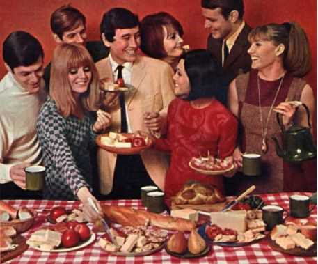 The Cheese and Wine Party is back in Style | My 1970s Memories