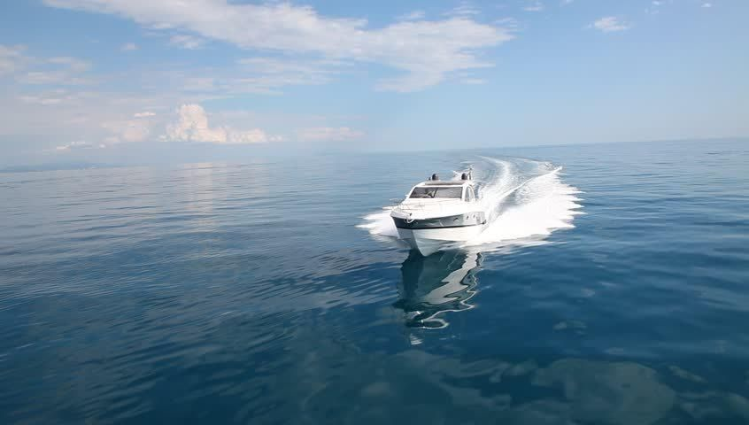 Motor Boat Rio Yachts Best Stock Footage Video 100 Royalty Free
