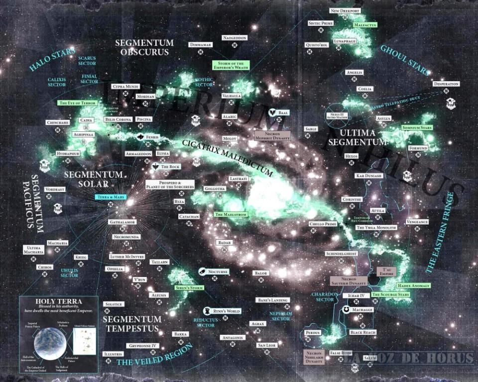Warhammer Fantasy Imperium Karte.New Warhammer 40k Galaxy Map Looks Even Better In Color