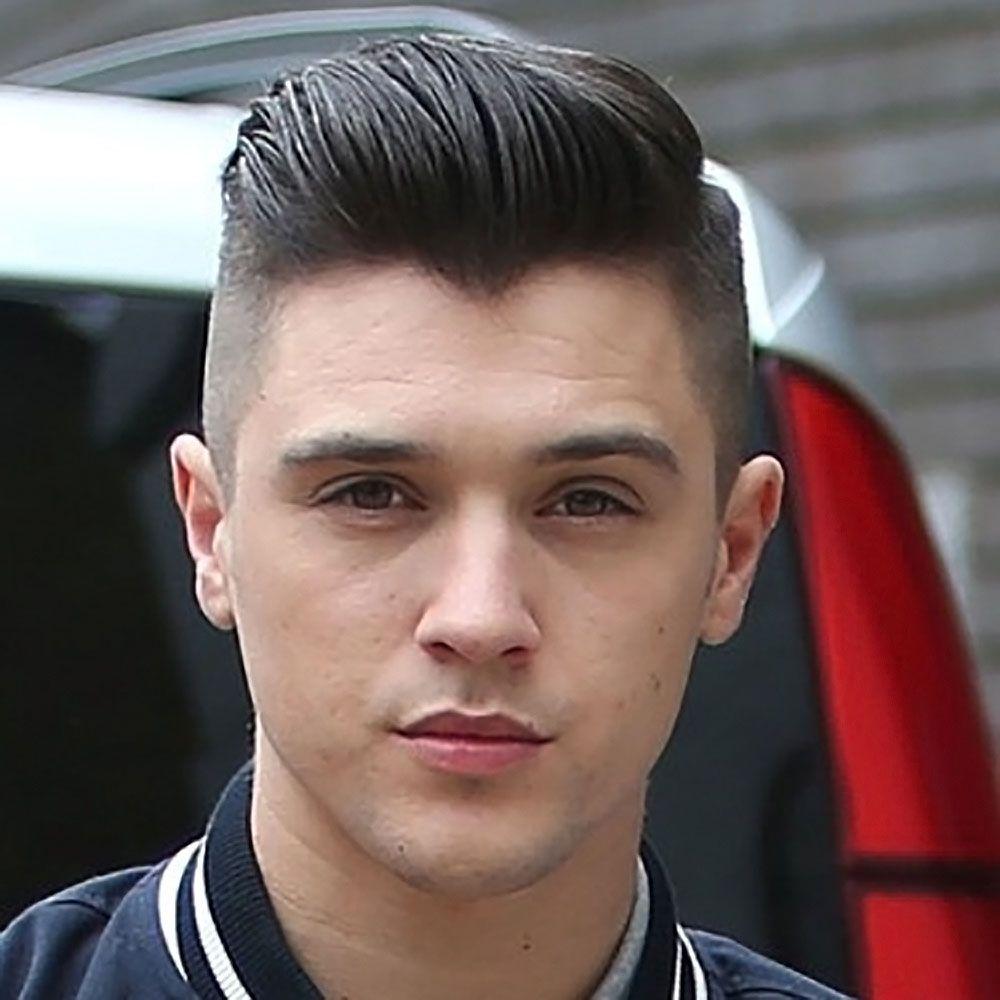 Mens haircut pompadour pin by ran dom on hair ideas  pinterest  pompadour pompadour