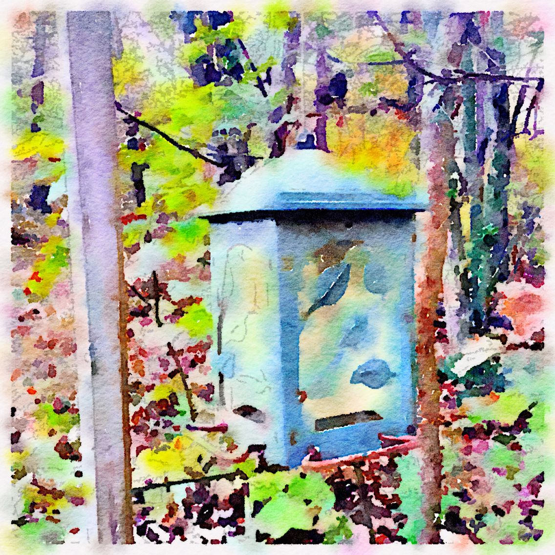 Waterlogue Painting Art Watercolor