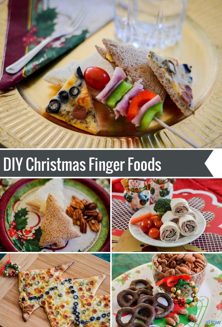 Christmas Finger Foods for Parties Finger foods, Food