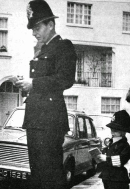 junior police man 1968 London david docherty - donald docherty