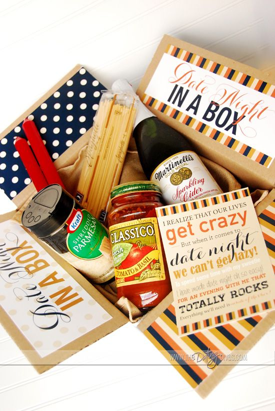 Date Night Basket or Box – From