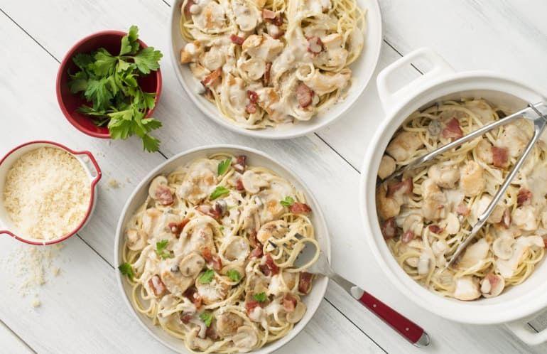 Smoky chicken pasta recipe cook with campbells canada