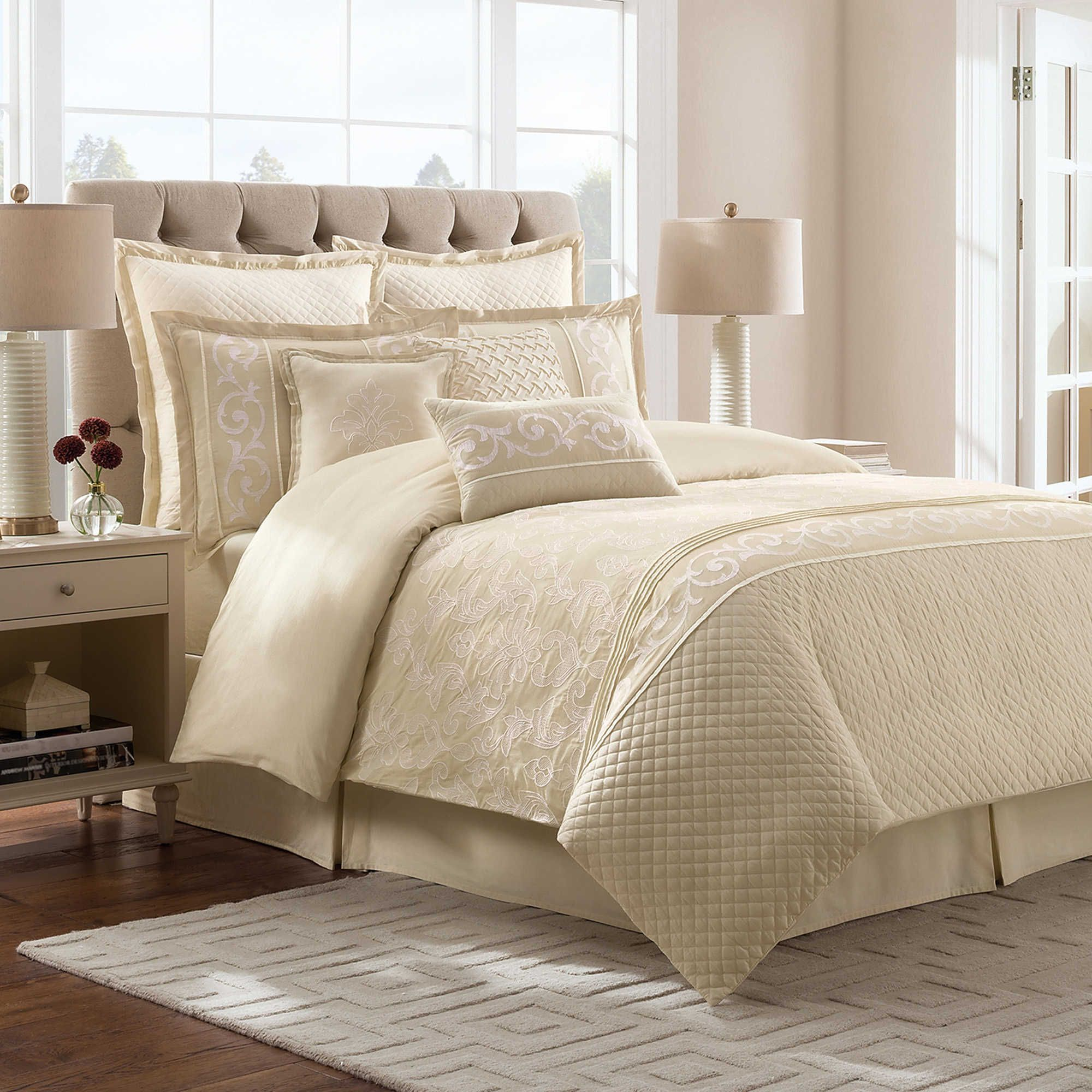 I like this Ivory Comforter Set too. For the Home