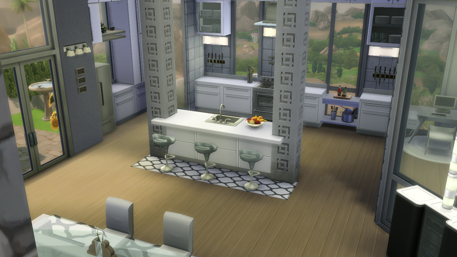 Modern Kitchen Sims 4 Kitchen Sims 4 Modern Kitchen