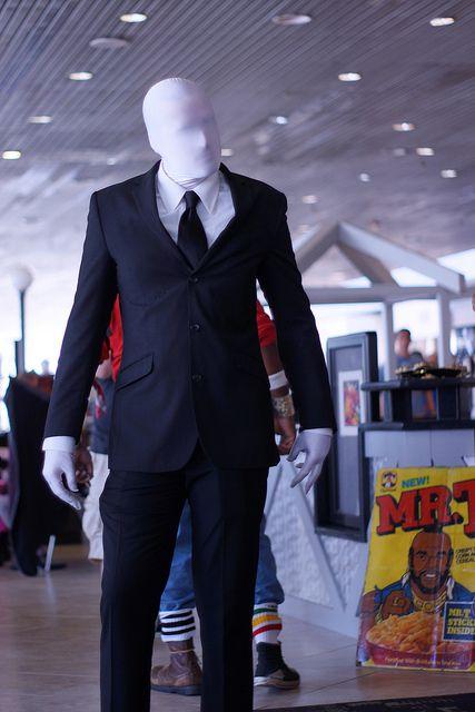 a great diy halloween costume slender man - Halloween Costume Slender Man