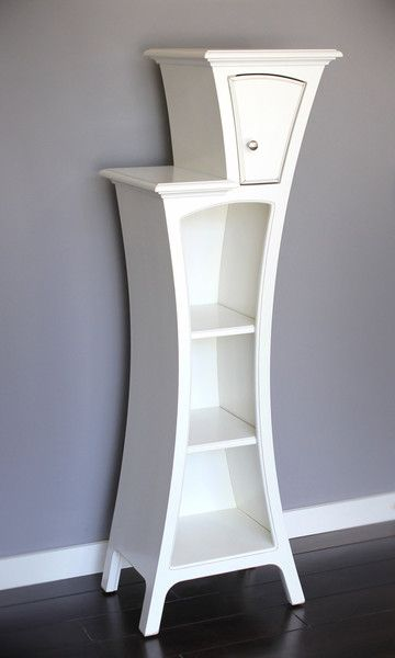 dust furniture* - Cabinet No.4 - Stepped Display Cabinet with Door