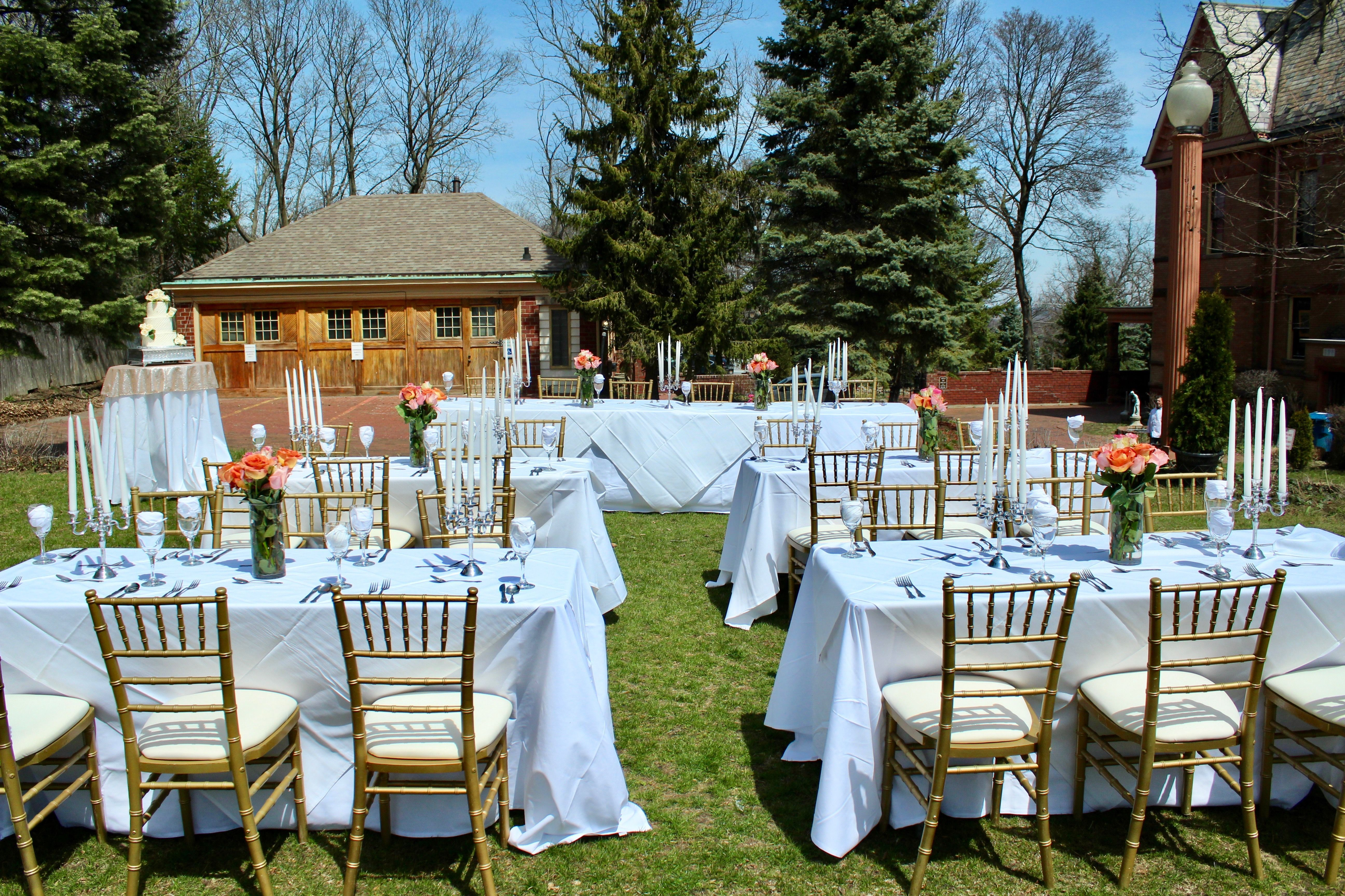 Outdoor Weddings At Henderson Castle Are So Beautiful In The Summer Interested Contact Us Henderson Castle Outdoor Furniture Sets Wedding Options