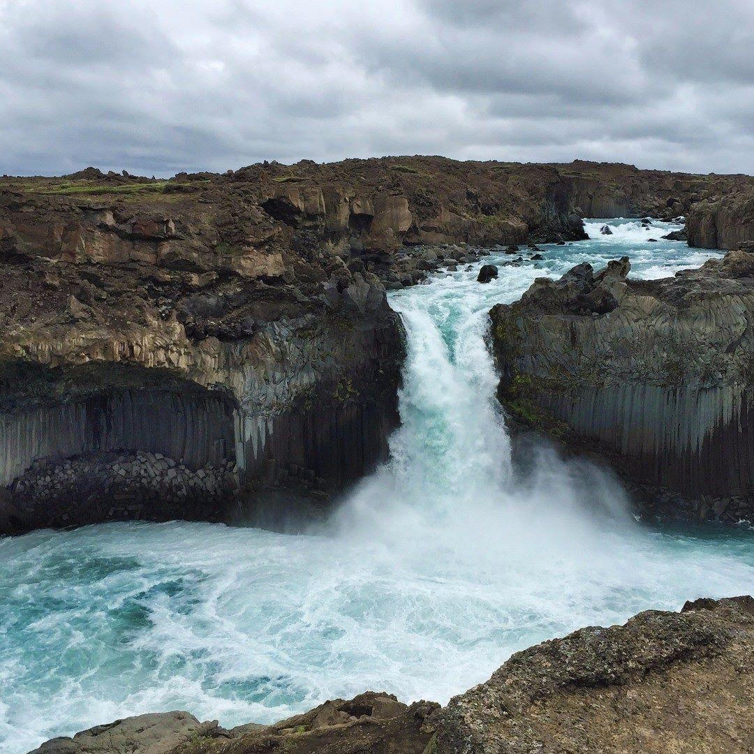 Iceland Waterfall Water Landscape Travel Traveling Wallpaper Nature Volcanic Scenery Rocks Instaphoto