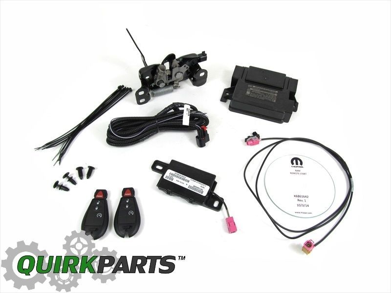 fobs new remote mopar oem pin kit dodge key ram start