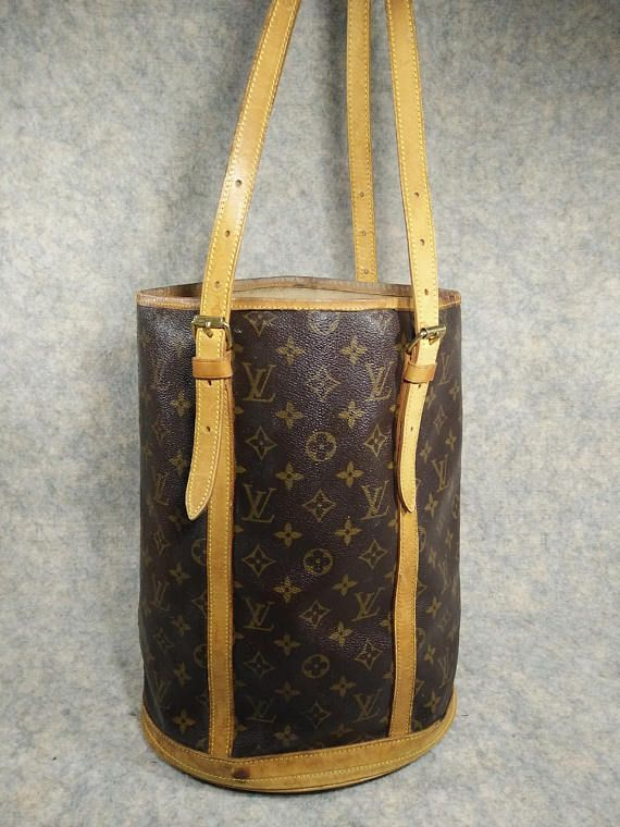 9a520f5ade9a Louis Vuitton BUCKET GM Vintage 1997 Handbag Shoulder Bag