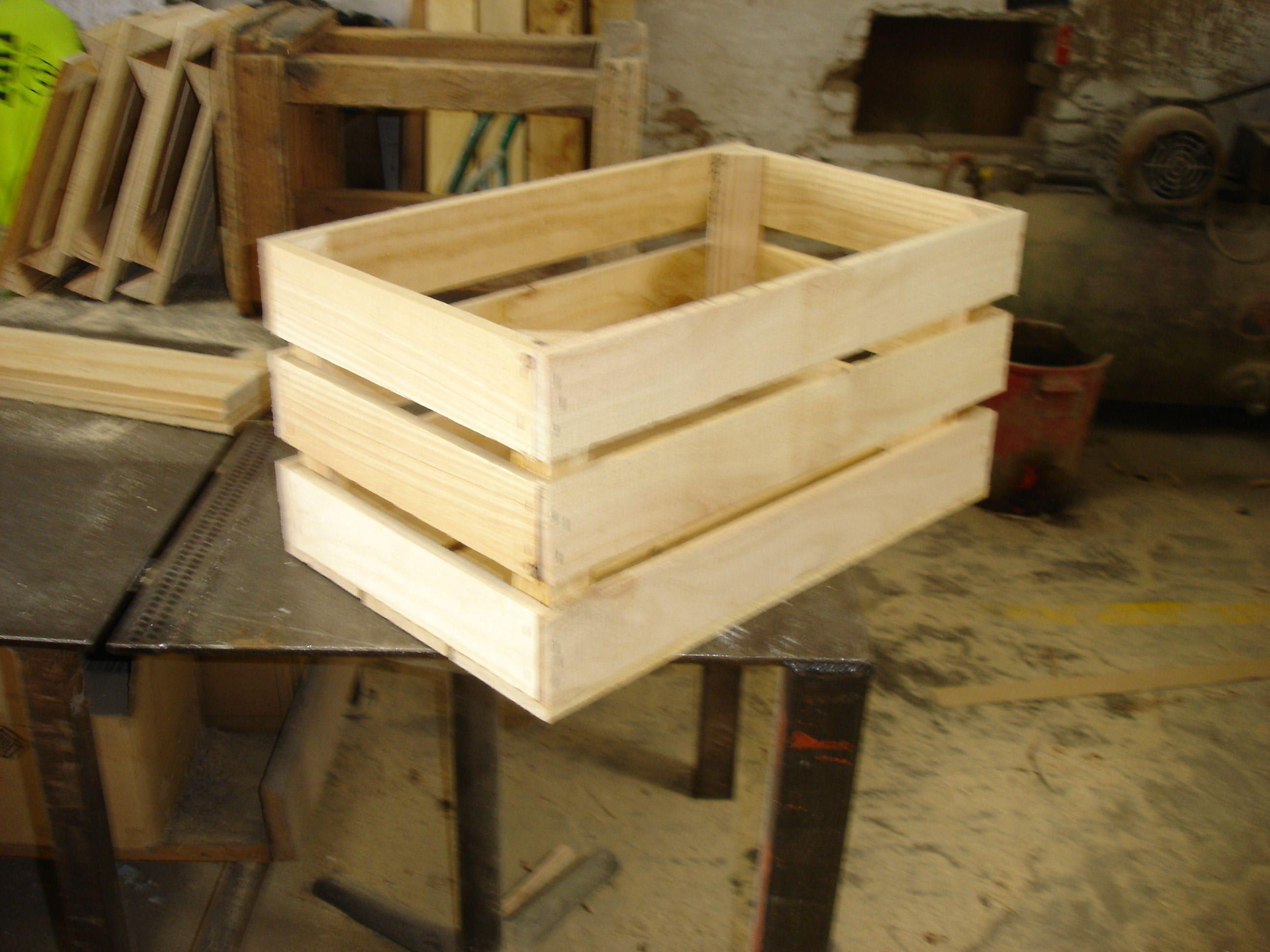 cajas de madera fruta nueva ideal para decoracin