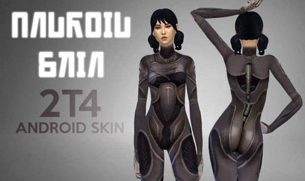 Imtater: Androin skin converted from TS2 to TS4 • Sims 4