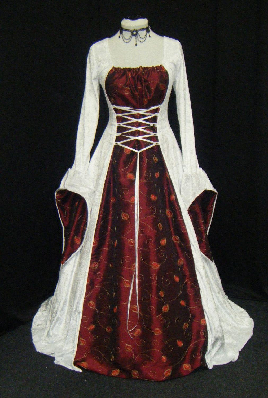 Reserved listing - custom made dress | Handfasting, Renaissance and ...