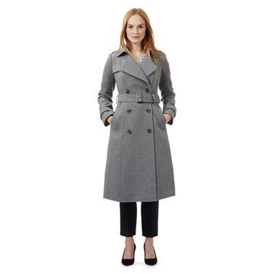 2876958820 J by Jasper Conran Grey textured military coat