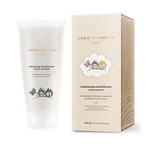 Grow Gorgeous Cleansing Conditioner Colour Protect Grow Gorgeous 12-i-1 multi conditioner kombinerer skumløs rens og dyptvirkende balsam i en operasjon, som gir balanse til hodebun
