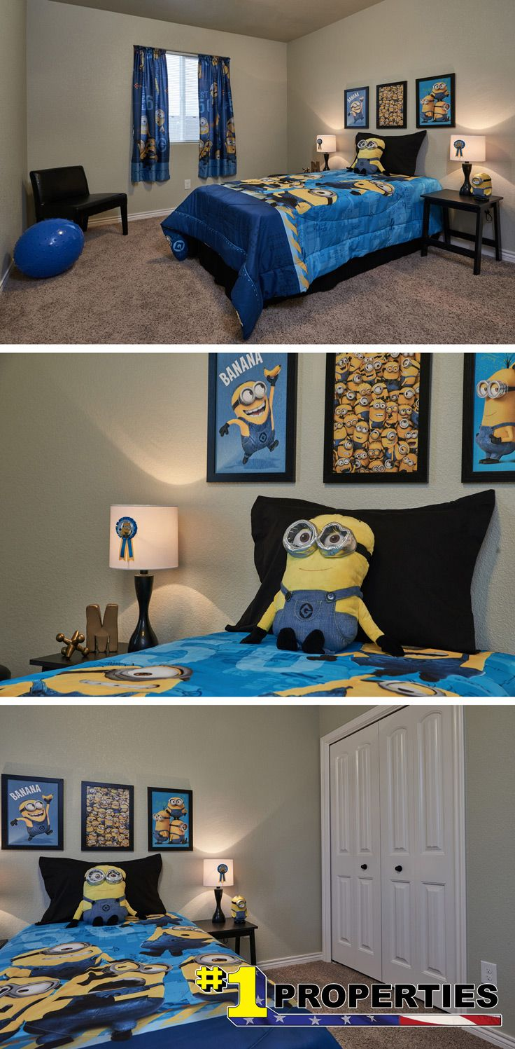 Minion inspired kid\'s room in 2019 | Minion room decor ...