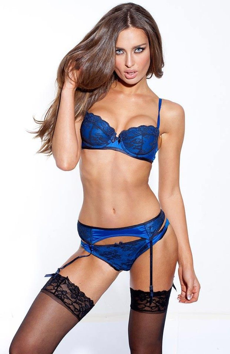 Rozanna Purcell | Ladies | Pinterest | Lingerie, Blue lingerie and ...