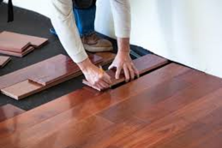 Stunning flooring to tie in this beautiful traditional