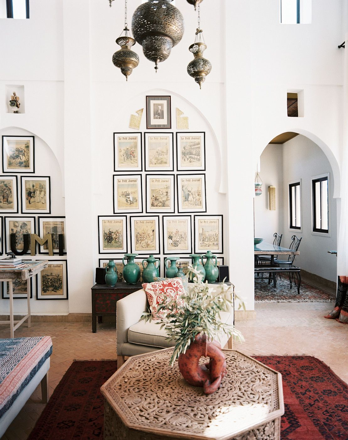 Gallery Wall Photos | Moroccan, Living rooms and Room