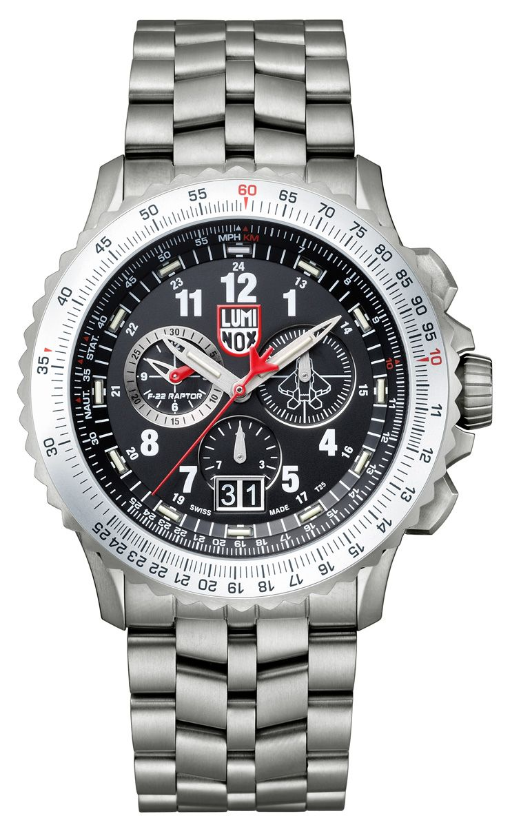 AIR, F-22 Raptor Chronograph | Luminox Watch USA