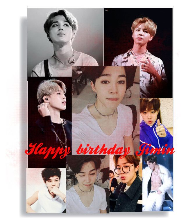 """Happy birthday Jimin"" by keasu ❤ liked on Polyvore featuring art"