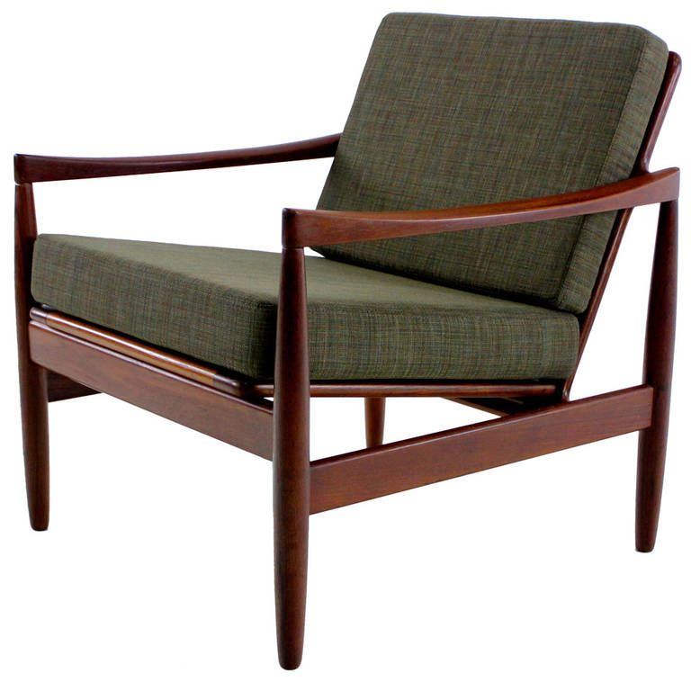 Classic Danish Modern Teak Armchair | From A Unique Collection Of Antique  And Modern Armchairs At