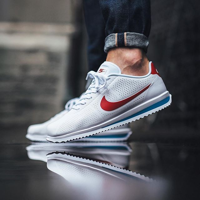53cd0c2fcb40 Nike Cortez Ultra Moire  White Varsity Red-Varsity Blue