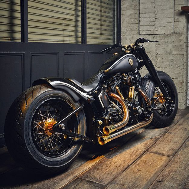 The Harley Softail Slim has two points in its favor: It's basically a Fat Boy with the fat trimmed off,
