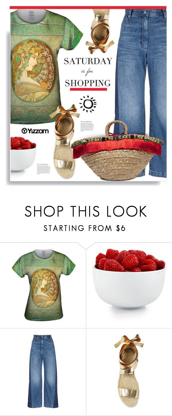 """Yizzam.com: Saturday is for shopping"" by hamaly ❤ liked on Polyvore featuring The Cellar, Rachel Comey, Dolce&Gabbana, vintage, outfit, ootd, blouse and yizzam"