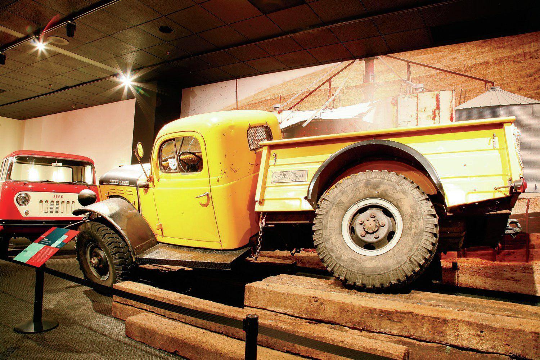 1953 Dodge Power Wagon Swivel Frame